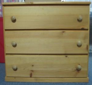 3-Drawer Dresser- Before