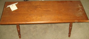 Wooden Bench- Before
